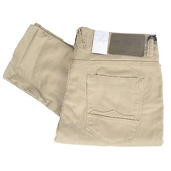 883 Police Cassady Beige Combat Slim Fit Jeans
