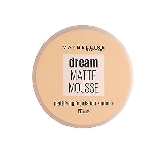 Maybelline Dream Matte Mousse Mattifying Foundation - Primer 18ml Nu (#021)