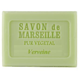 Savon de Marseille Le Chatelard 1802 - Verbene Iron Herb - Strong Pleasant Lemon Fragrance Cools the Skin 100 g