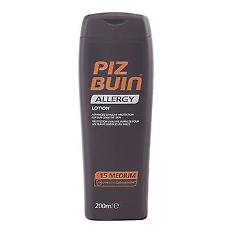 Sonnenlotion Allergie Piz Buin Spf 15 (200 ml)