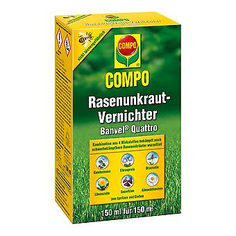 COMPO Lawn Weed Killer Banvel® Quattro, 150 ml