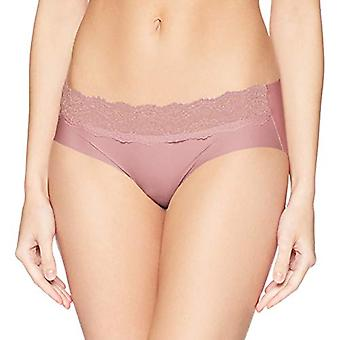 b.tempt'd by Wacoal Women's B.Bare Hipster Panty, Pink, Pink Nectar, Size Large