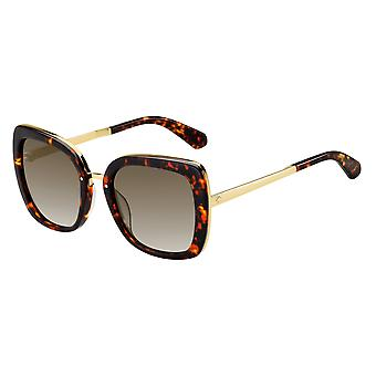 Kate Spade Kimora/G/S 086/HA Dark Havana/Brown Gradient Sunglasses