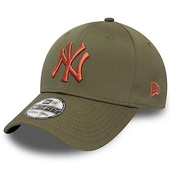 New era 39Thirty Flexfit cap-New York Yankees de măsline