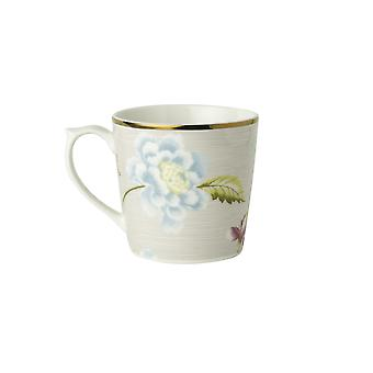 Laura Ashley Mini Mug, Cobblestone Pinstripe