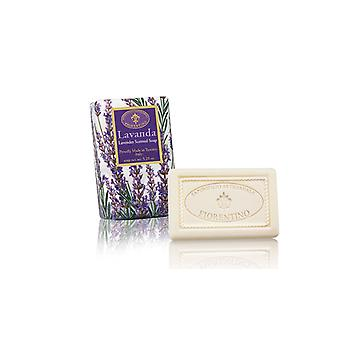 Saponificio Artigianale Fiorentino Handmade Lavender Soap Lovely Fragrance Lovingly Wrapped in Wrapping Paper 150g