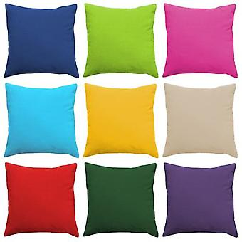 "Gardenista Premium Water Resistant Outdoor Foam Crumb Filled 18"" Garden Furniture Scatter Cushion (Red)"