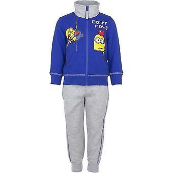 Minions boys tracksuit jogging set
