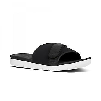 FitFlop Neoflex™ Ladies Slide Sandals Black