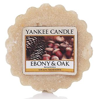 Yankee Candle Wax Tart Melt Ebony & Oak