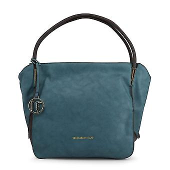 Trussardi Original Women All Year Shoulder Bag - Couleur Verte 49102