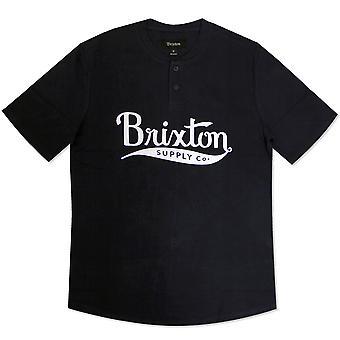 Brixton Gomez Henley t-paita Navy