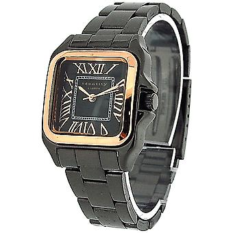Identité Londres Gun Metal Bracelet sangle Mesdames montre de mode 283/6911