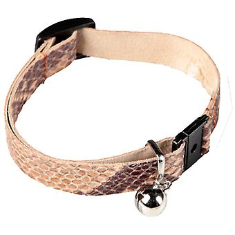 Арппе леопард кожи регулируемый кошки воротник (кошки, воротники, ведет & страховочные, воротники)