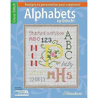 Alphabets to Stitch by Herrschners - 9781464711497 Book