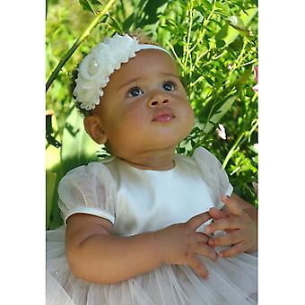 Luxurious Baby Tiara For Special Occasions In Off White - Grace Of Sweden