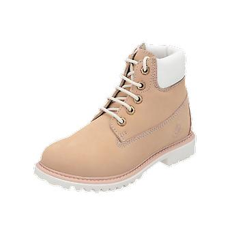 Lumberjack River Kids Girls Botas Rosa Lace-Up Botas inverno