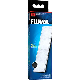 Fluval FLUVAL U3 POLY/CARBON  (2pc) (Fish , Filters & Water Pumps , Filter Sponge/Foam)