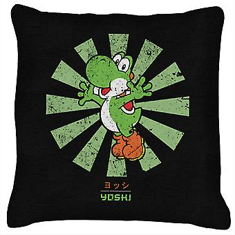 Yoshi Retro Japanese Super Mario Cushion