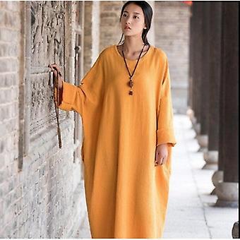 Oversize lang casual kjole