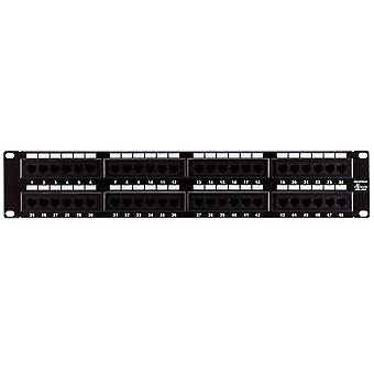 48-Port Cat6 Patch Panel 110 Type (568A/B Kompatibel) von Monoprice