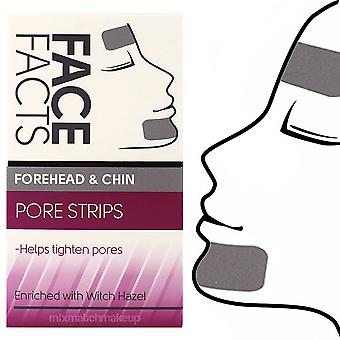 Face Facts Deep Cleansing Forehead & Chin Face Pore Strips