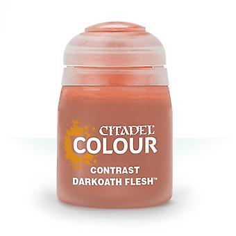 Contrast: Darkoath Flesh (18ml), Citadel Paint Contrast, Warhammer 40,000