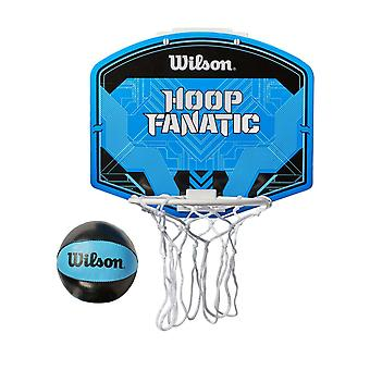 Wilson Hoop Fanatic Mini Basketball Kit Ring, Net & Ball Set
