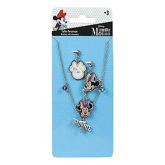 Kinder's Minnie Mouse Charm Halskette Set