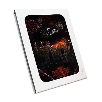 Millie Bobby Brown Signed Stranger Things Season 3 Poster. In Gift Box