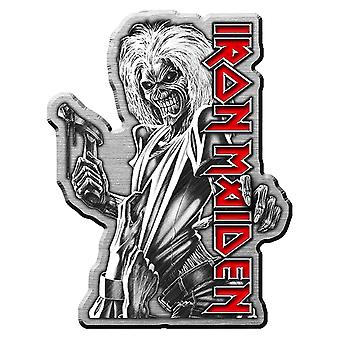 Iron Maiden Pin Badge Killers Album Band Logo new Official Metal Lapel
