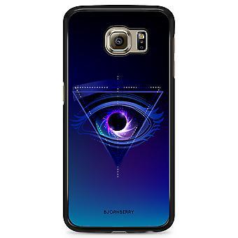 Bjornberry Shell Samsung Galaxy S6 Edge - graafinen silmä