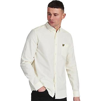 Lyle & Scott Herren regelmäßige Fit Langarm Oxford Shirt
