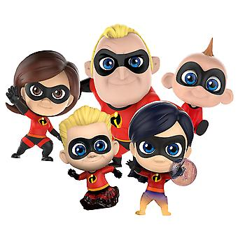 Incredibles 2 Cosbaby Collectible Set