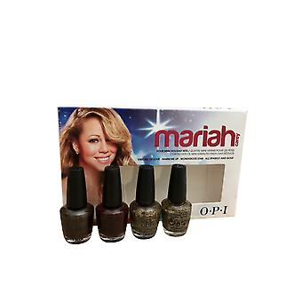 OPI Mariah Four Mini Holiday Hits Nail Polish Set