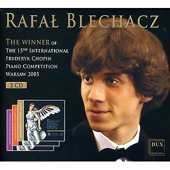 Chopin/Debussy - Rafal Blechacz: The Winner of the 15th International Fryderyk Chopin Piano Competition [Box Set] [CD] USA import