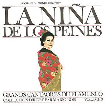 La Nina De Los Peines - Masters of Flamenco, Vol. 3 [CD] USA import