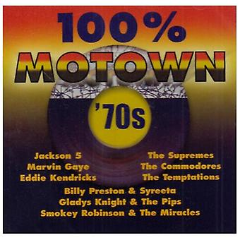 100% Motown-'70s - 100% Motown-'70s [CD] USA import