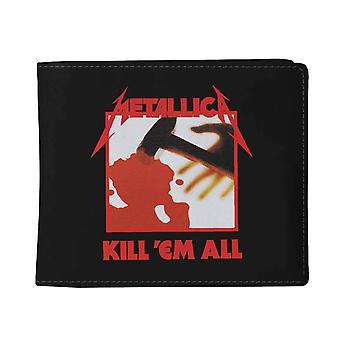 Metallica Wallet Kill Em All Band logo new Official Black Bifold