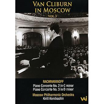 Van Cliburn - Van Cliburn in Moscow Vol. 3 [DVD] USA import
