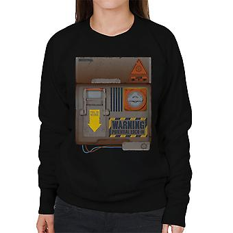 The Crystal Maze Lock In Board Rust Women's Sweatshirt
