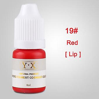 Plant Tattoo Ink Pigment For Semi Permanent Eyebrow Eyeliner Lip Paint - Microblading Pigment Tattoo Inks