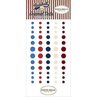 Carta Bella Baseball Enamel Dots