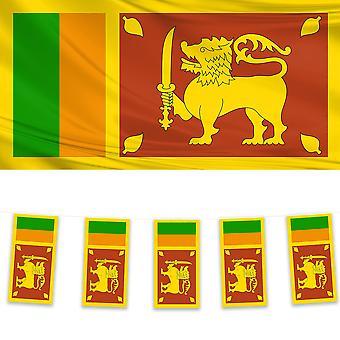 Sri Lanka Vlag & Bunting Pack