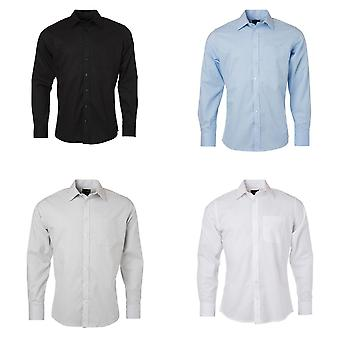 James and Nicholson Mens Longsleeve Oxford Shirt
