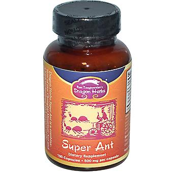 Dragon Herbs, Super Ant, 500 mg, 100 Capsules