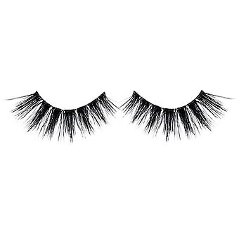 Bliss False Eyelashes - #120 / Black - Elegant 3D Effect Luscious Lashes