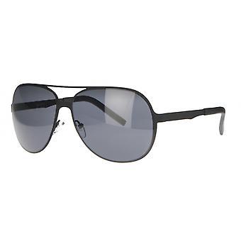 Solbriller Unisex Cat.3 svart/røyk (AMM19105 D)