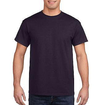 Gildan G5000 Plain Heavy Cotton T Shirt in Blackberry