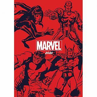 Marvel Comics A5 Dagboek 2021